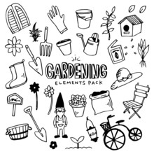 Gardening Illustration Pack