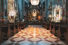 Navata Chiesa Di Kazimierz Polonia