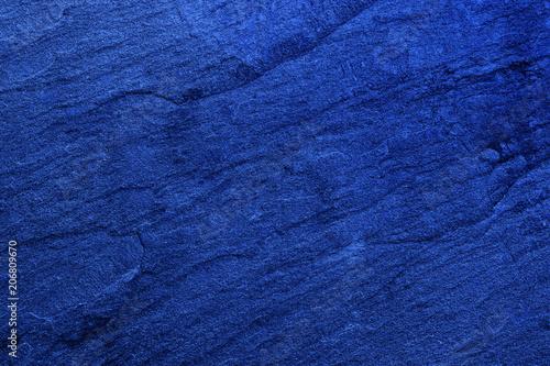 Dark blue black slate background or texture. Stone background
