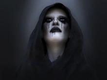 3D Rendering Of A Death Angel Or Demon.