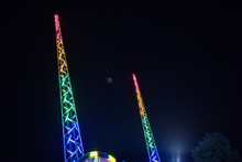 Night View To Reverse Bungee F...