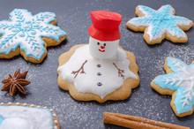 Homemade Christmas Cookies, Me...