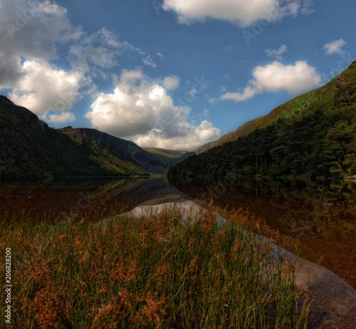 Fotobehang Blauwe jeans Irish Landscapes
