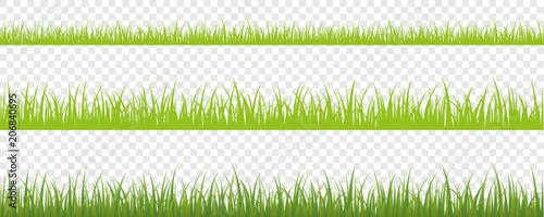 Obraz grüne wiese hintergrund 3er Set - fototapety do salonu