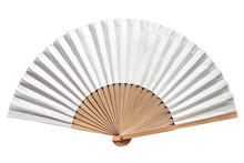 A Korean Traditional Folding Fan