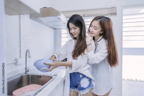 Asian soap lesbian