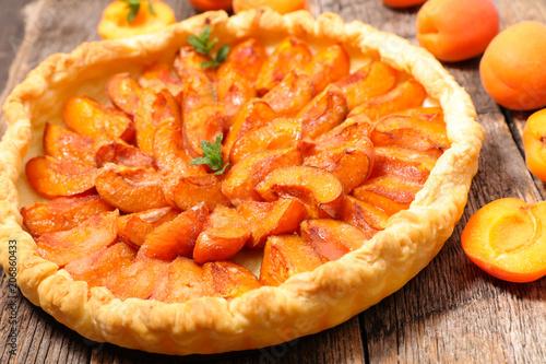 Papiers peints Paris homemade apricot pie