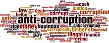 Anti-corruption Word Cloud