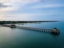 Pier At Naples Beach Florida
