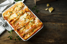 Traditional Homemade Lasagna