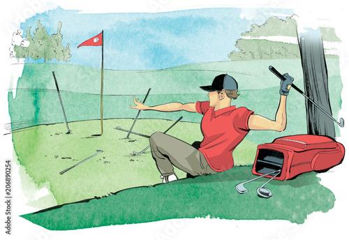 Bad Golfer