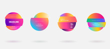 Vector Colorful Deformed Circl...