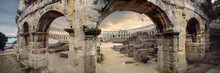 Ancient Roman Amphitheater In ...