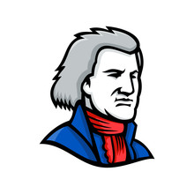 Thomas Jefferson Mascot