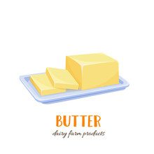 Vector Butter Icon