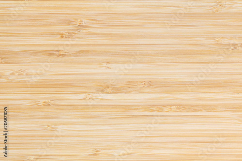 Fotografía  Bamboo surface merge for background, top view brown wood paneling