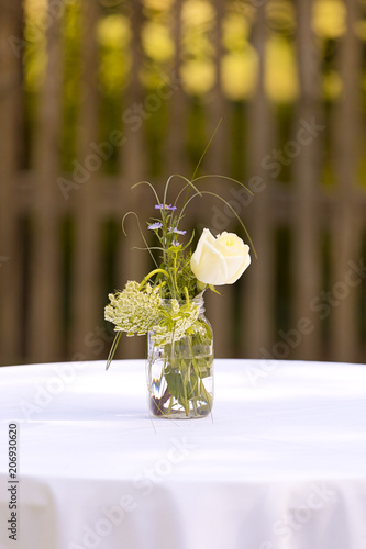 Yellow Rose In A Bottle Rustic Wedding Decoration Buy This Stock