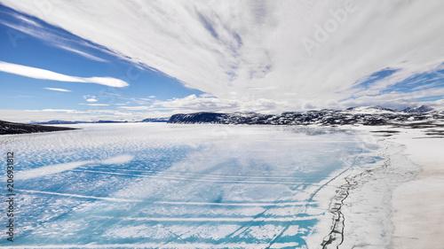 Fototapeta Icy beach