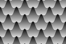 Seamless Wavy Tiled Pattern