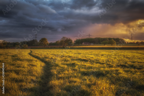 Foto op Plexiglas Honing Sunset drama