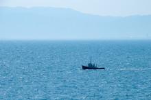 瀬戸内海に浮かぶ江田島