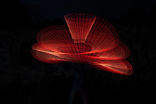 Red Light Painting, Long Expos...