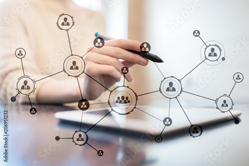 Canvastavla Organisation structure