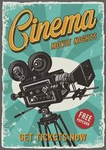 Cinema Vintage Poster