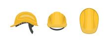 Vector Illustration. Construction Helmet On A White Background.