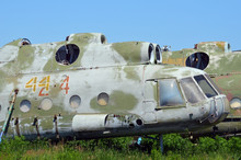 Ukrainian Military Helicopters  For Long-term Storage