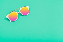 Top View. Fashion Sunglasses O...