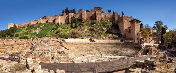 Málaga, Alcazaba, Teatro Romano, Spain