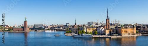 Montage in der Fensternische Stockholm Stockholm panorama