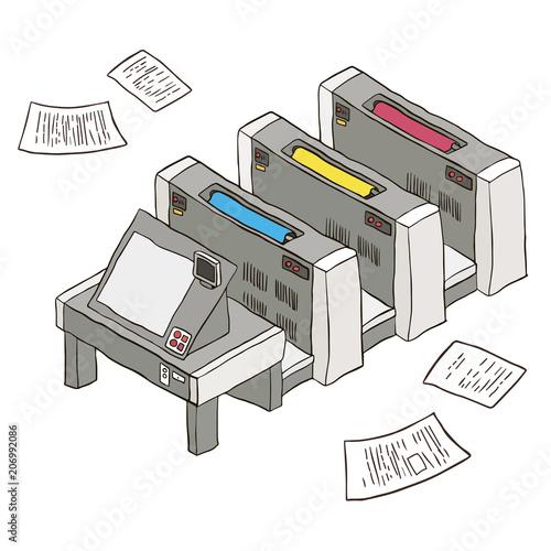 Sensational Printing Press Printing Equipment Digital Printing Printing Vector Wiring Digital Resources Attrlexorcompassionincorg