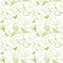 Ecologic Green Doodles