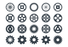 Cogwheel Machine Gear Icon, Se...