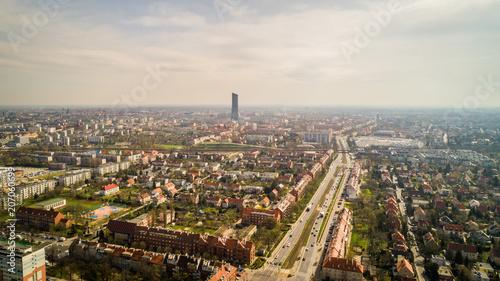 Fototapeta Wrocław panorama miasta obraz