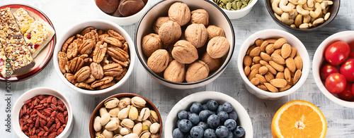 Photo  Healthy snacks