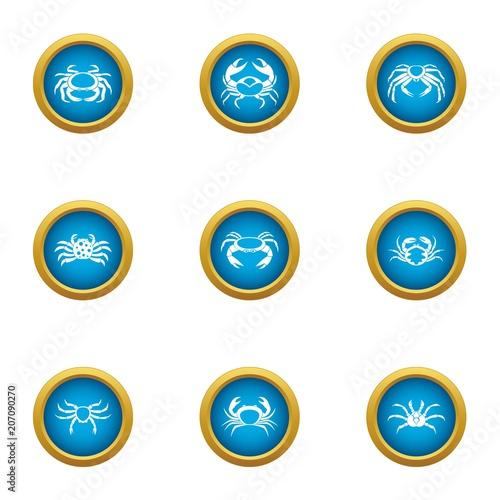 Fotografie, Tablou  Arthropoda icons set