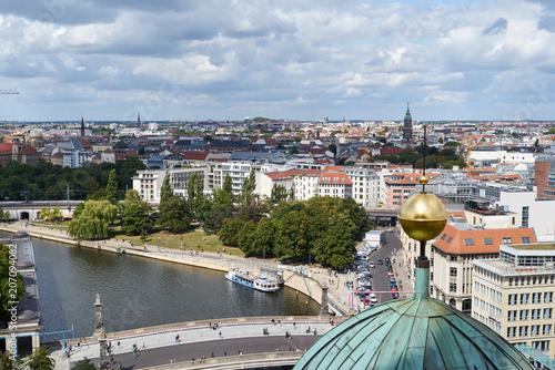 Zdjęcie XXL Widok z berlińskiej katedry na dzielnicę Prenzlauer Berg