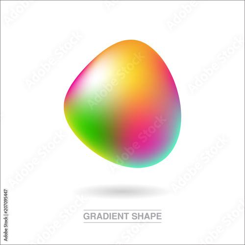 Gradient orbs logotype Canvas-taulu