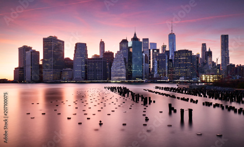 Foto op Plexiglas New York City New York City skyline