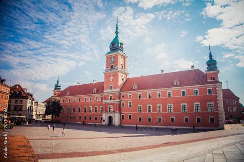 Fototapeta Royal Castle in Warsaw, Poland obraz