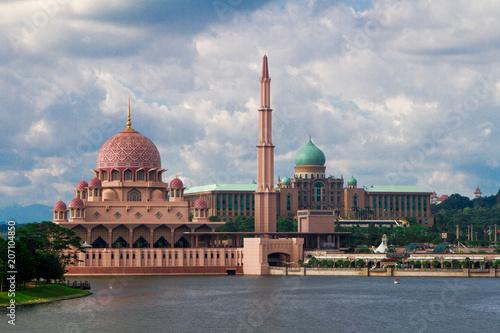 Putra Mosque, Putrajaya, Malaysia Poster