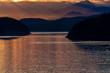 アラスカの夕日