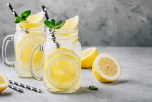 Homemade Refreshing Summer Lem...