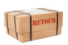 Retour Paket Mit Umreifungsban...
