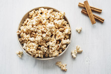 Popcorn Flavored With Cinnamon And Birch Sugar