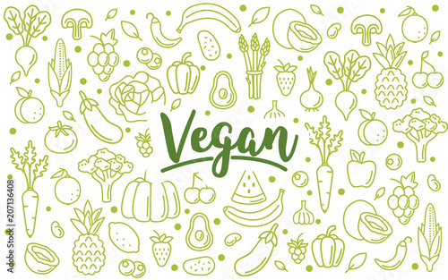 Fototapeta vegan obraz