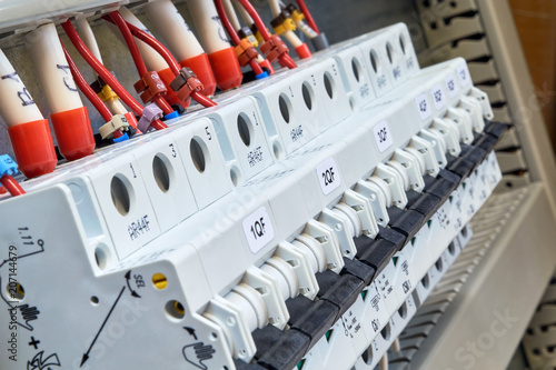Swell A Range Of Modular Circuit Breakers In The Electrical Cabinet Wires Wiring Digital Resources Timewpwclawcorpcom